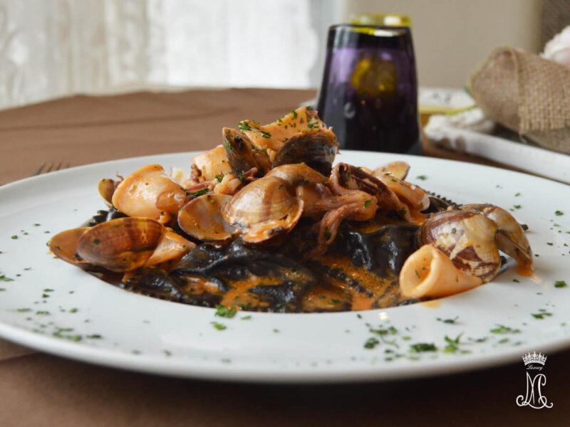 Tortelli di pesce - Ristorante Traversetolo Maria Luigia Luxury