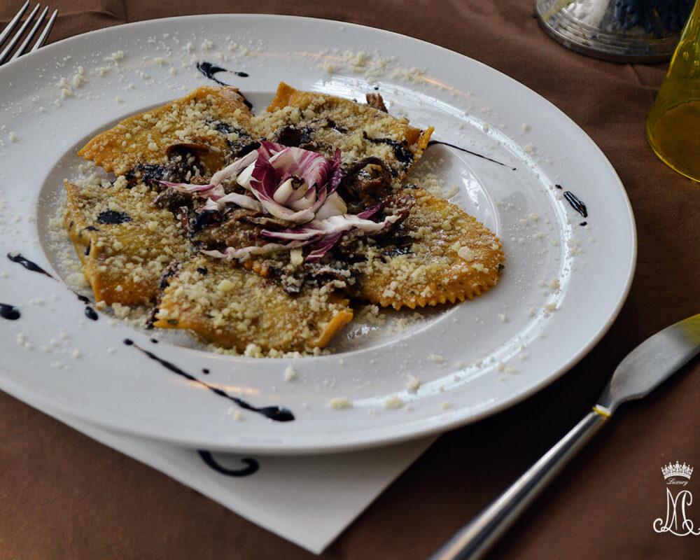 Mezzelune Patate e Porcini Maria Luigia Luxury